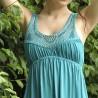 Длинное платье с заклепками