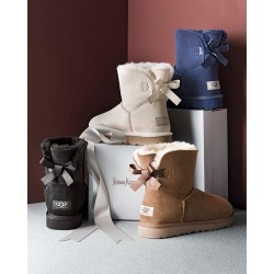 Мини угги с бантиком (UGG Mini Bailey Bow)